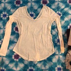 Sheer long sleeve shirt from Buckle xs
